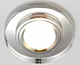 Точечные светильники (декоративное стекло) под лампу mr16