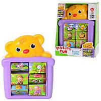 Музыкальная игрушка Мишка-пазл Кeenway 31357