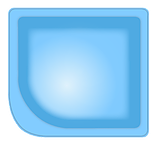Купель 1, Размеры бассейна: 2,00 х 2,20 х 1,70 м