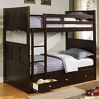 Двухъярусная кровать трансформер с ящиками - Сильвия
