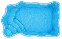 Бассейн Одесса, Размеры бассейна: 4,70 x 3,00 x 1,30 м