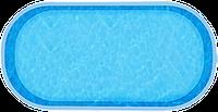 Бассейн Ницца, Размеры бассейна: 6,40 x 3,40 x 1,50 м