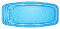 Бассейн Баффало, Размеры бассейна: 7.80x3.60x1.10-1.60м