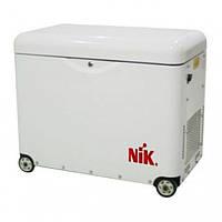 Дизельный генератор NiK  DG 5000 1ф в кожухе с АВР, 905х550х750, 170 кг
