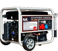 Дизельный генератор NiK  DG 5500 1ф без кожуха, 592х555х76, 3000(об/мин),50(Гц),Электростартер