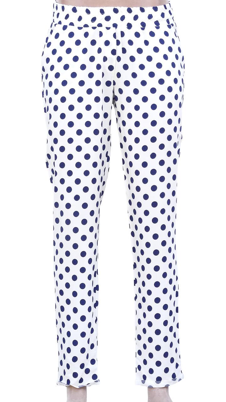 Летние штаны в крупный горох 44р (в расцветках)