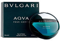 Bvlgari AQUA edt 50 ml туалетная вода мужская (оригинал подлинник  Италия)