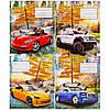 Тетрадь цветная 18 листов, линия