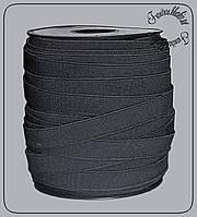 Резинка белая 1,5см черная (Турция)