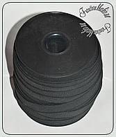 Резинка белая 1,5см черная (Турция) 50м