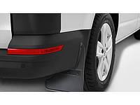 Бризковики задні для Volkswagen Transporter T6 2015 - оригінальні 2шт 7F0075101, фото 1