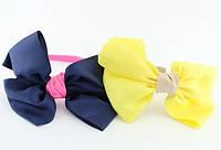 Обруч для волос с большим бантом 6 цветов