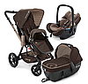 Коляска универсальная Concord Wanderer Travel Set 3 в 1 (Chocolate brown, коричневий) WASL0966
