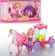 Игровой набор Карета с лошадью и куклой 05013-05015 (2 вида)