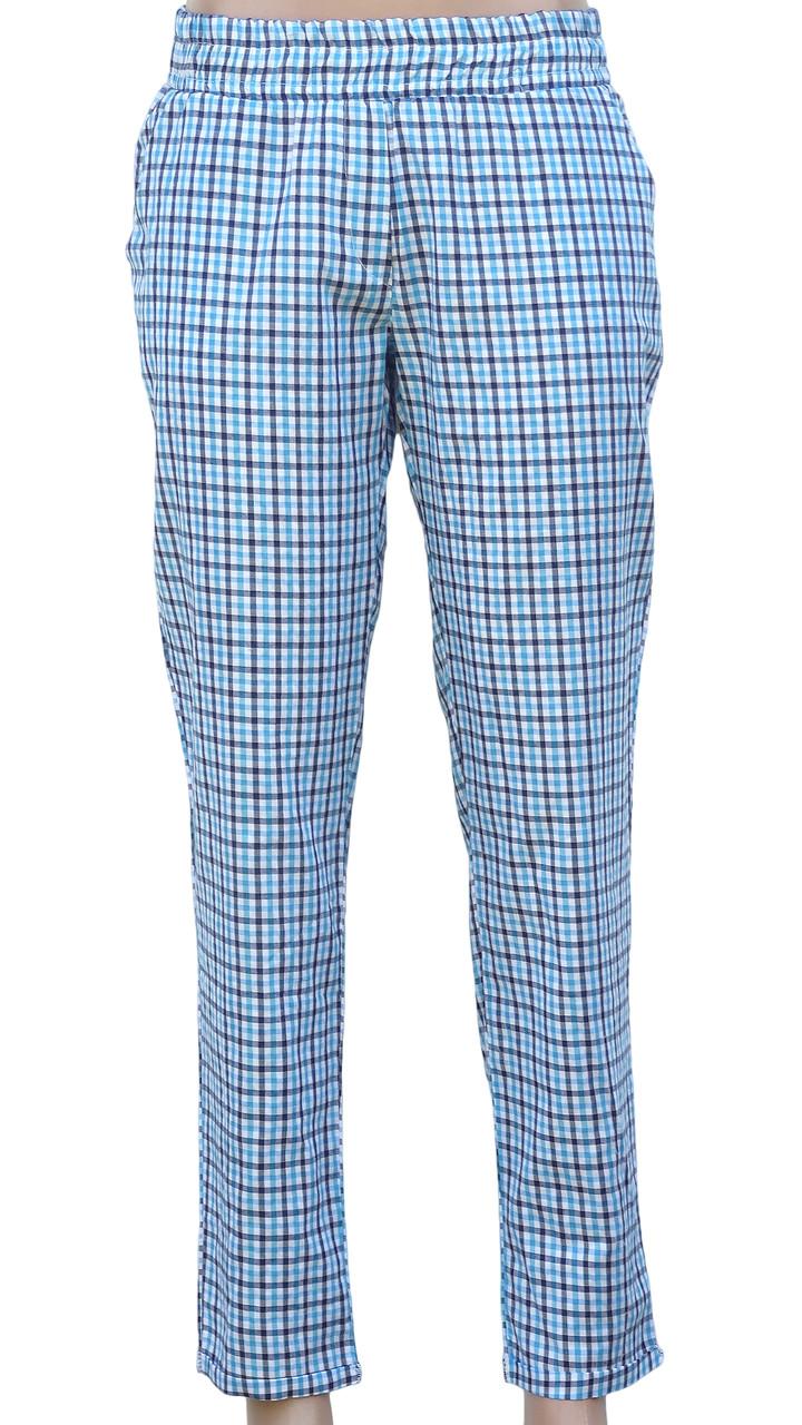 Клетчатые летние штаны из хлопка (в расцветках)