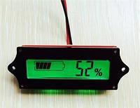 12в-48в Универсальный  Цифровой жк- индикатор батареи тестер емкости