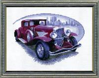 Набор для вышивания крестом Ретро - автомобиль