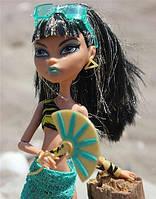 Кукла Monster High Клео де Нил (Cleo De Nile) Мрачный пляж Монстер Хай Школа монстров
