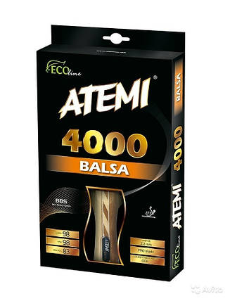 Ракетка для настольного тенниса ATEMI PRO ECO LINE 4000C, фото 2
