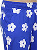 Женские летние штаны в цветки 44, 46 (в расцветках), фото 7