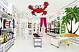 Что делают острова и крабы в магазине одежды?