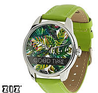 """Прикольные наручные часы """"Пальмовые листья"""" ZIZ (Украина)"""