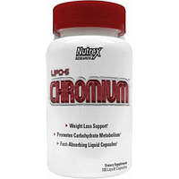 USA : CHROMIUM  100 капс (Nutrex White Label LIPO 6)