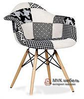 "Кресло ""Eames DAW"" (Wood) (Patchwork №3)"