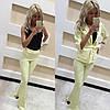 Брючный костюм-тройка пиджак-майка-брюки, фото 2