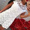 Нежное кружевное платье-туника 1053, фото 2