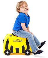 Дорожный чемоданчик для ребёнка Пчёлка Bumble-bee 044 , фото 1