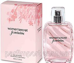 Woman'secret feminine EDT 100 ml Туалетная вода женская (оригинал подлинник  Испания)