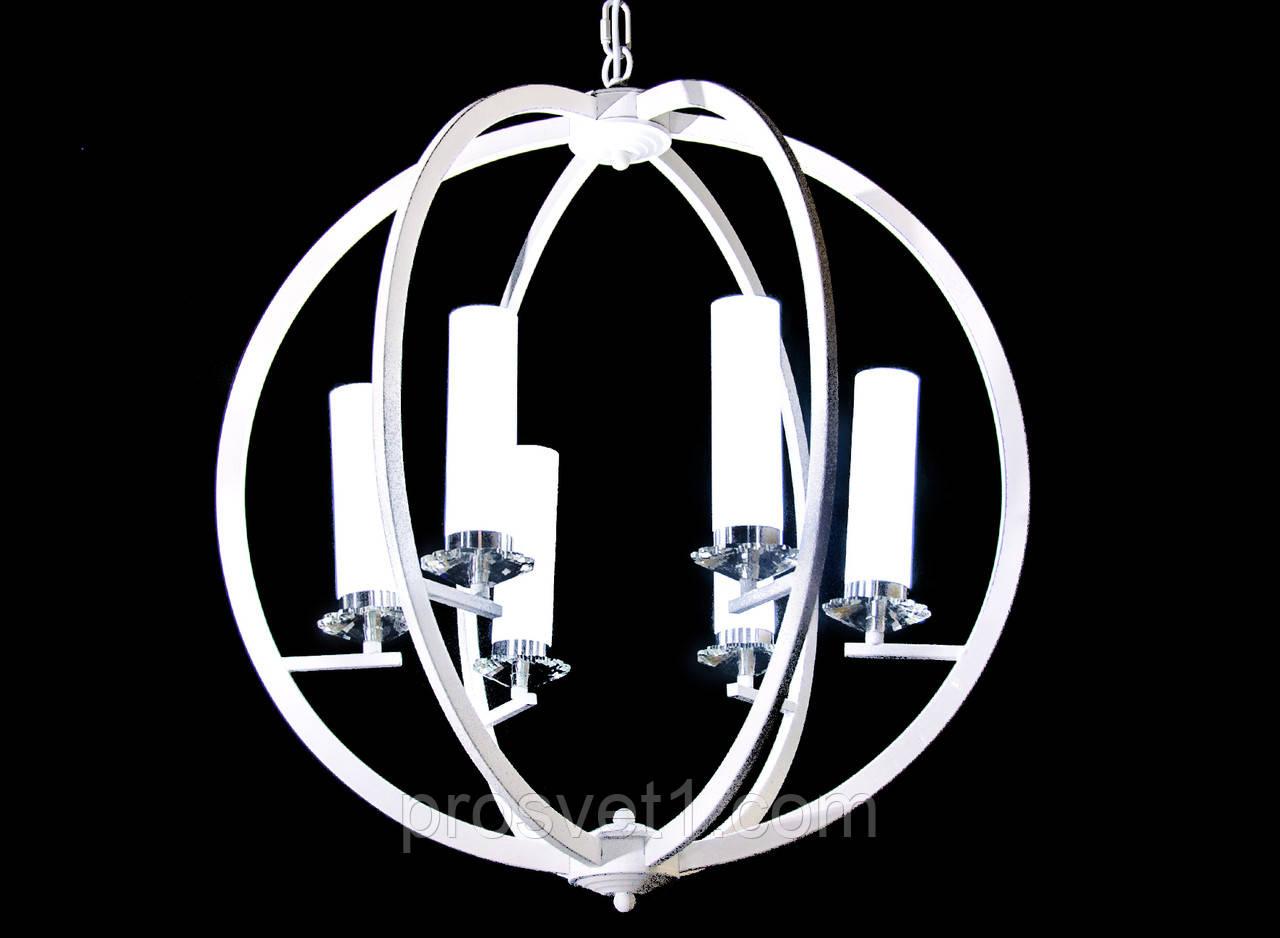 Люстра с пультом и светодиодной подсветкой