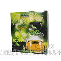 Подарочный Набор ТЯНЬ ШАНЬ чайник Гунфу + зеленый чай 100 г, фото 2