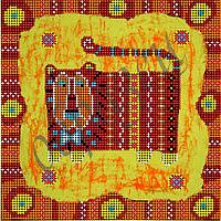Схема для вышивки бисером Хранитель домашнего уюта КМР 4068