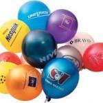 Нанесение на латексные шарики
