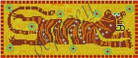 Схема для вышивки бисером Символ силы и здоровья. КМР 4073