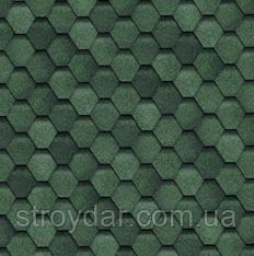 Гнучка черепиця TILERCAT Прима (Тайлеркет) Зелений