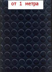 Черный линолеум Автолин для автобусов, маршруток и автомобилей, 2 м ширина, на метраж