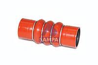 81.9632.00159 патрубок турбонагнетателя (50х160) красная