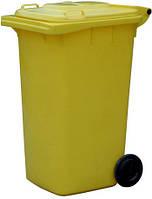Контейнер для сміття 240 л. (пластик)