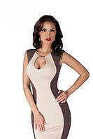 Купить стильное женское трикотажное платье, р.42-52