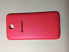 Задняя крышка для Lenovo A516 розовая. оригинал. разборка