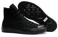 Кеды Converse Chuck Taylor All Star High Mono Black, фото 1