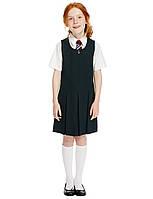 Школьный сарафан темно-синий на девочку 5-6-7-8 лет Marks&Spencer (Aнглия)
