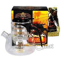 Подарочный Набор Sun Gardens чайник Гунфу + черный чай 100г