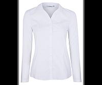 Нарядная белая школьная блузка с длинным рукавом  George (Англия)
