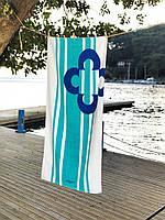 Полотенце пляжное Marie claire Belem.mavi 75х150