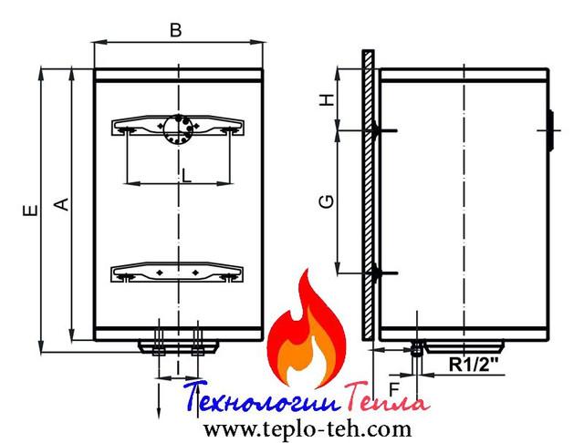Схема электробойлера Клима Хитс