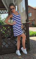 Жіноче плаття-майка морячка (Платье короткое майка морячка)